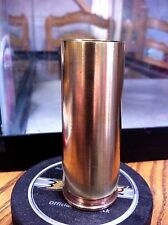 Bullet Shot-glass!  Hand made from 20mm brass bullet cases!  Makes a great gift!