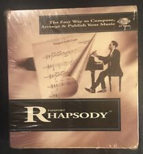 Passport Rhapsody Easy Way To Compose, Arrange, Publish Music CD-Rom Windows 95
