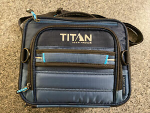 Titan Deep Freeze Expandable Lunch Box w/ 2 Ice Packs & Leak Proof Containers