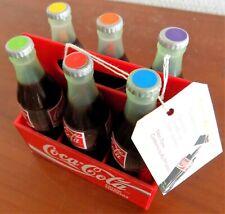 COCA COLA pack 6 mini bouteille  stylo feutre