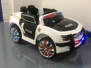 Police Ride on Car 12v | Children's Electric Toy Car