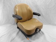 TAN / BROWN ULTRA RIDE SUSPENSION SEAT I3M FITS SCAG ZERO TURN MOWERS ZTR #I3MT