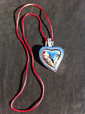 YVES ST LAURENT Pendentif Coeur strass/Miroir Pendant Heart with mirror & strass