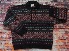 Vintage 80s/90s Stefanel Italy Cosby Knit Collared Sweater Jumper Pullover Large