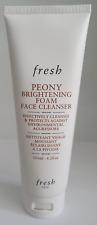fresh peony brightening foam face cleanser 125ml