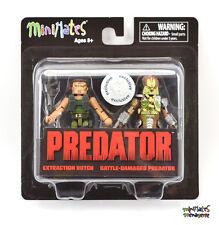 Predator Minimates TRU Toys R Us Wave 1 Extraction Dutch & Damaged Predator