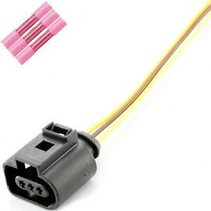 Reparatur Ersatz Stecker Kabel 3 Polig passend für VW Audi Seat Skoda 1J0973703