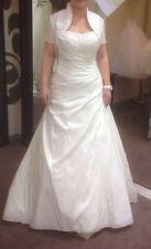•Brautkleid von Lilly - Größe 36/38 - Farbe ivory / creme•