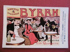 CPA - Concours d'Affiches BYRRH - Publicité - Vins  - Carte Postale Ancienne
