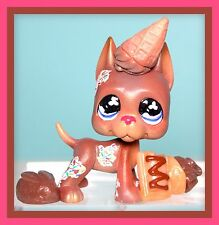 ❤OOAK Littlest Pet Shop LPS Ice Cream GREAT DANE DOG Custom Lot SET Repaint❤