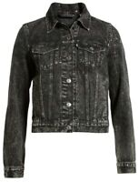 Levi's Women's Original Denim Trucker Jacket In Faded Black Size S