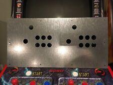 Mortal Kombat Style 6 Button Arcade Metal Mame Control Panel NOS CPO