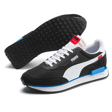 Puma Future Rider play on entrenador negro/blanco