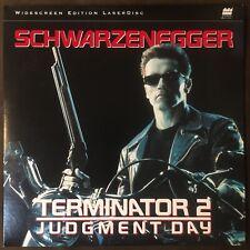 TERMINATOR 2: JUDGEMENT DAY (1998) Laserdisc Remastered Widescreen - MINT