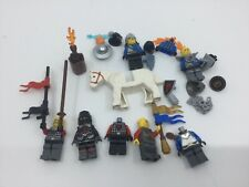 LEGO Vintage Medieval Knights Soldiers mini figures Spares Weapons Shields
