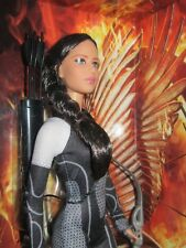 Katniss Barbie black label fashion J Lawrence Hunger Games catching fire NEW