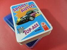 🎲 Quartett Spiel Quartet Game * Top-Ass * Sport-Autos Sports Cars * (33720.6)