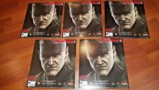 Metal Gear Solid 4 Exclusive Promo Store Display Banner KONAMI Old Liquid Snake