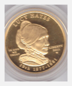 2011-W $10 Lucy Hayes Gold First Spouse PROOF Coin - Box & COA