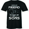 I Asked God For A Best Friend He Sent Me My Son - Best Gift Ever Men's T-shirt