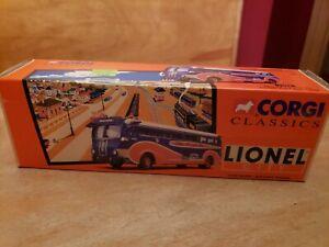 Lionel City #53904 CORGI CLASSICS Blue and Orange Die-cast Bus NEW