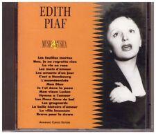 EDITH PIAF  - MUSICA & MUSICA - CD