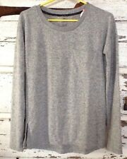 Sweater Women's S Pullover Perfect Crew Pocket Gray Authentic American Heritage