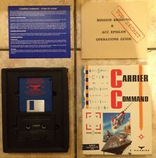 Carrier COMANDO-Atari ST-ORIGINALE Big box con musica cassette