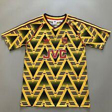 1991-93 Arsenal Bruised Banana Retro Football Shirt Wright #8 Away Jersey