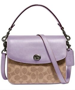 ❤️NWT Coach Cassie 19 Coated Canvas Signature Crossbody 89089 Limited