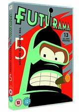 Futurama Complete Serie Season 5 DVD Region 4 New Sealed