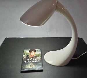 Verilux SmartLight Curve Desk Productivity Lamp in white/ivory Happy Light Mood.