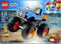 LEGO CITY ~ MONSTER TRUCK ~ (Set #60180) ~ New & Unopened