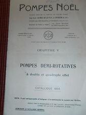 catalogue pompes noël année 1934  ( ref 16 )