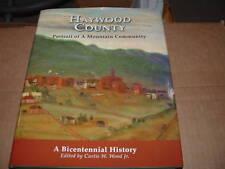Haywood County NC Portrait Mountain Community Hardback Book Canton Waynesville