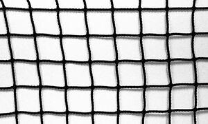 Baseball Batting Cage Baffle Net Screen #42 HDPE Netting 12' x 14'