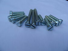 Triumph Primary Cover  Screw Set 51-54 (5T & 6T) Cheesehead Flat Slotted