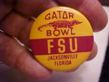 FSU Gator Bowl Pin 1982 or 1985 vintage college pin