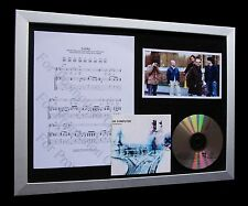 RADIOHEAD Lucky GALLERY QUALITY CD MUSIC FRAMED DISPLAY-EXPRESS GLOBAL SHIPPING