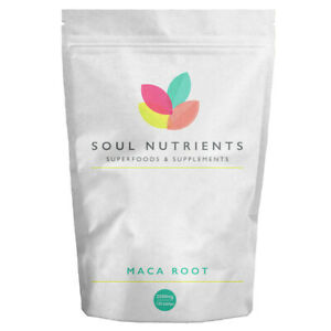 Maca Root Tablets 2500mg 120 Tablets- Contributes to The Balance of Hormones
