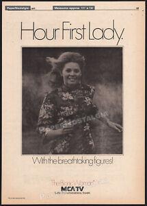 THE BIONIC WOMAN__Original 1977 Trade print AD / poster_TV promo__LINDSAY WAGNER