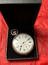 OMEGA 935 silver swiss Open Face Pocket Watch Swiss watch