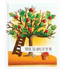 Tree Metal Cutting Dies Apple Stencils Scrapbooking Card Making Die Crafts Mold