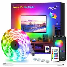 LED Strip Lights TV LED Backlight Bluetooth Control Sync to Music with Remote