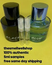 ^^5ML SAMPLE LOT^^ Black And Blue by Kenneth Cole Men's Cologne Atomizers Decant