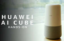 Huawei B900 AI Cube+Smart Speaker WiFi Router UNLOCKED 4G Band B1/3/7/8/20/32/38