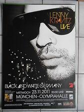 LENNY KRAVITZ 2011 Munich Orig. Concert-Concert-Tour-Poster - affiche DIN a1