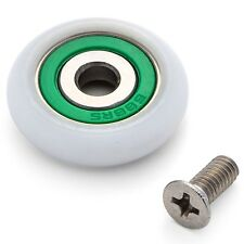 8 x Shower Door Rollers/Runners/Spares  23mm wheels diameter, L077-1i