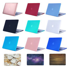 Rubberized hard Case Cover for Macbook Air Pro 13 11 12...