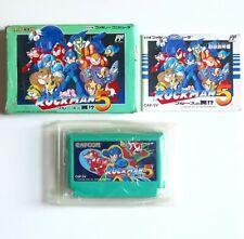 ROCKMAN 5 Nintendo Famicom NES Japan (2)